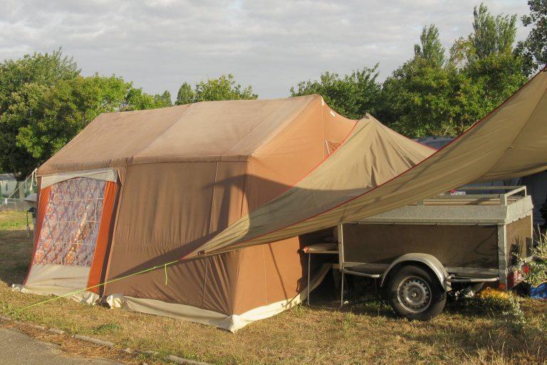 Trailer Tent Storage Lymm