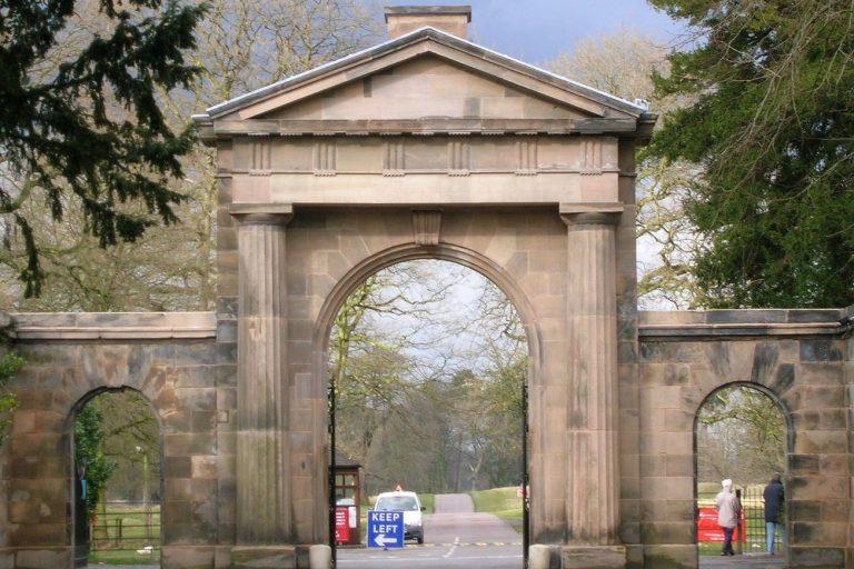 Tatton Park Gates