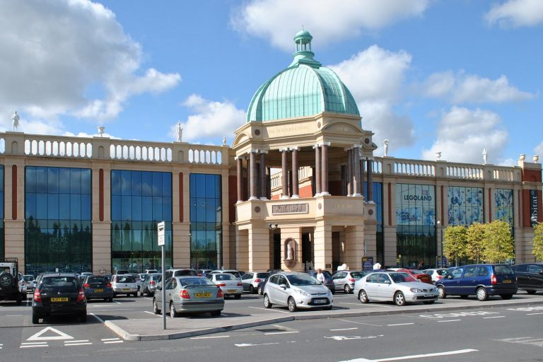 Shopping Centre near Warrington