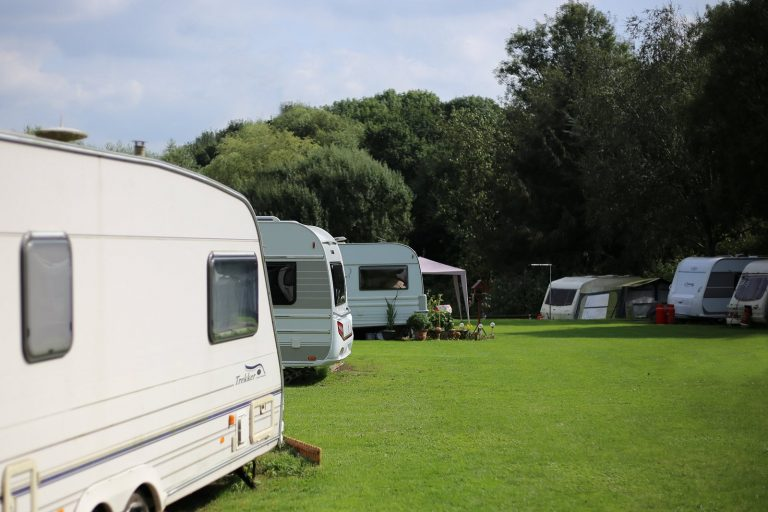 Low cost camp site in Cheshire
