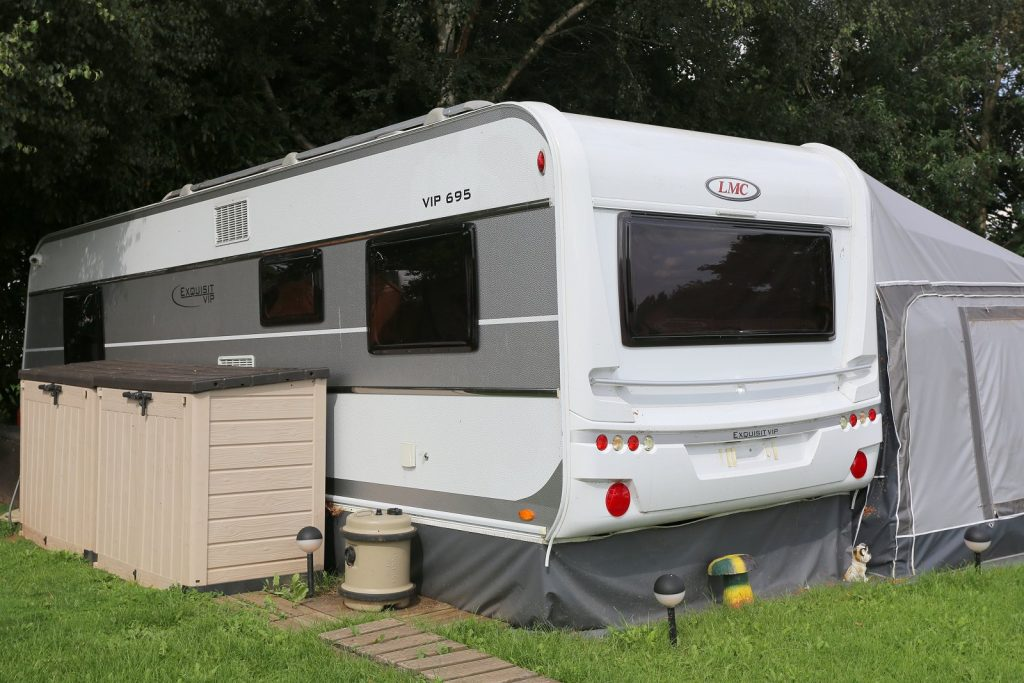 Cheap caravans for hire in Plemstall