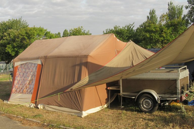 Trailer Tent Storage Ashley